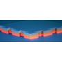 Kép 3/4 - ProGame Basic Plus tatami - 100*100*3 cm